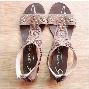 "Boutique 9 ""glory"" embellished sandals"